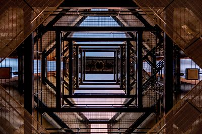 looking up metal architecture