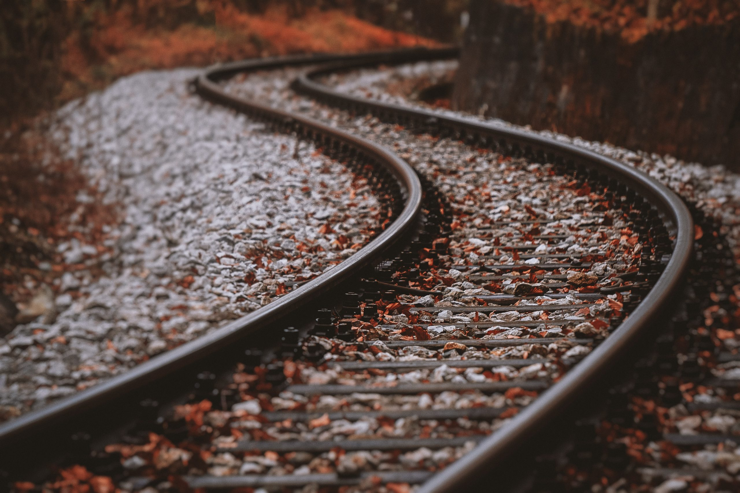 Winding tracks