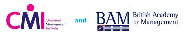 chartered management institute and british academy of management logos