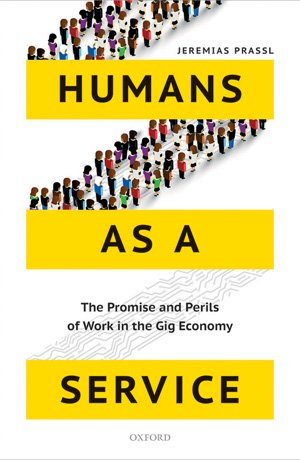 book cover humans as a service