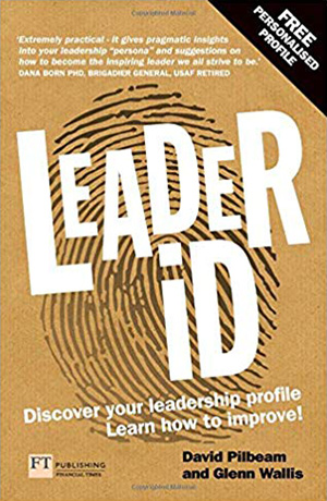 book cover leader id