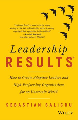 book cover leadership results