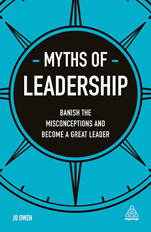 book cover myths of leadership