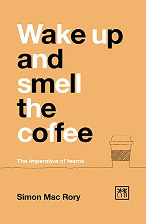 book cover wake up and smell the coffee