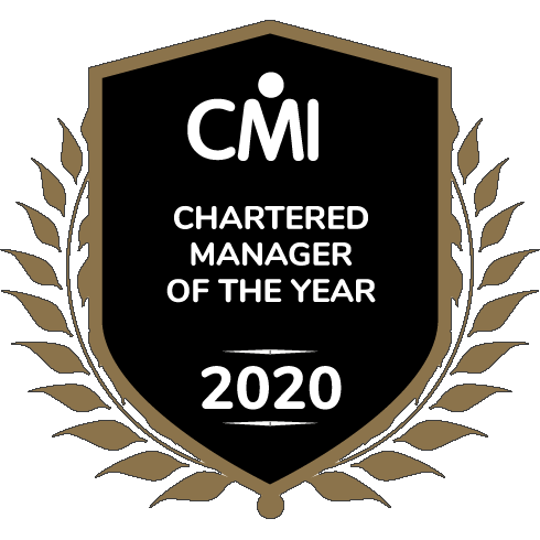 CMI Chartered Manager of the year award crest