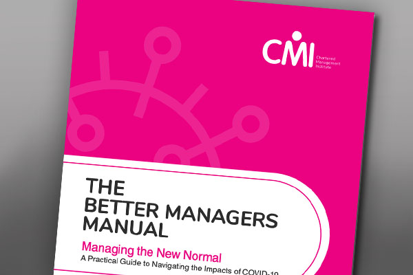 The Cover of the Better Managers Manual
