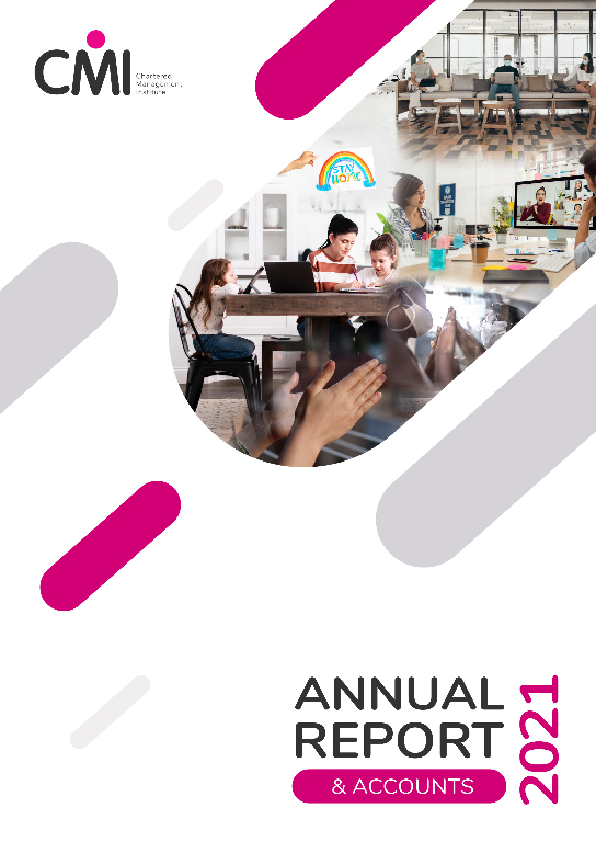 CMI Annual Report 2021 - front cover