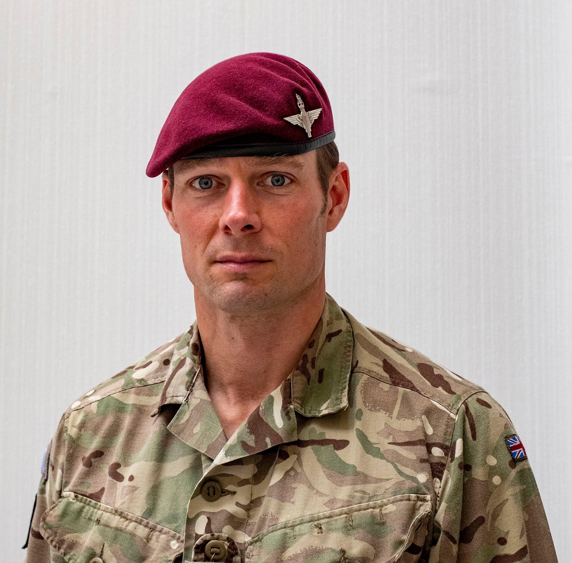 Lieutenant Colonel Langley Sharp MBE