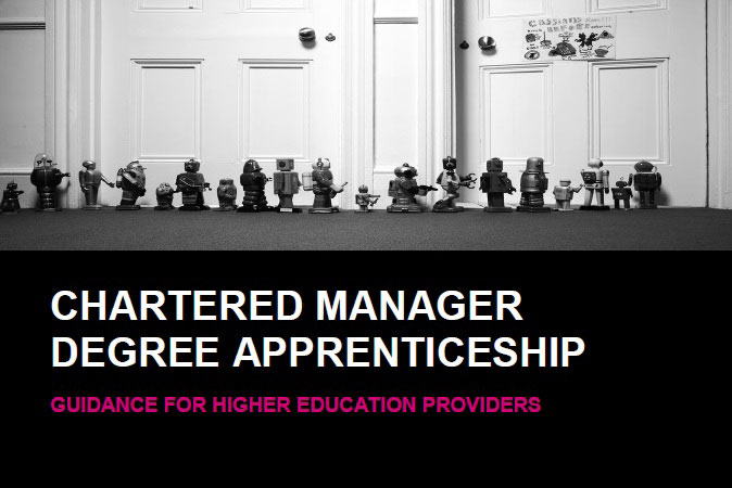 Chartered Manager Degree Apprenticeship Guidance