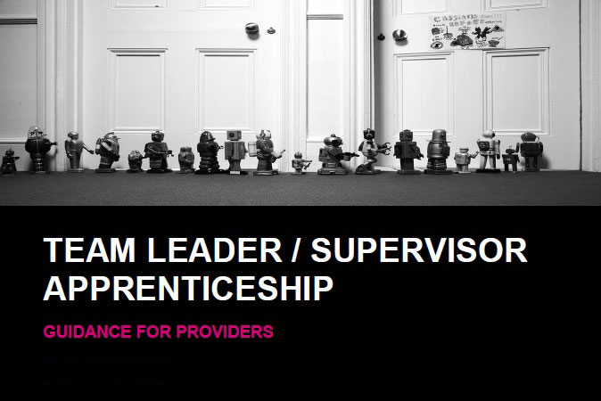 Team Leader Supervisor Apprenticeship Guidance