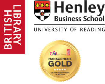 Logos - British Library, Henley Business School and CMI Management Gold