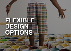 Flexible design options