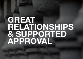 Great relationships and supported approval