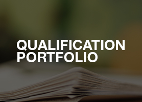 Qualification portfolio
