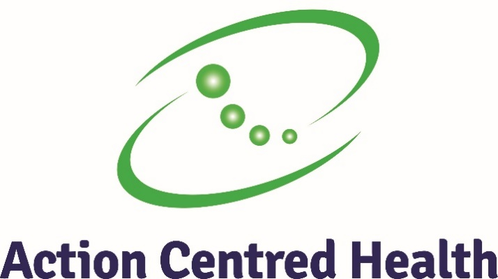 Action Centred Health logo