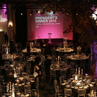 Presidents Dinner Venue