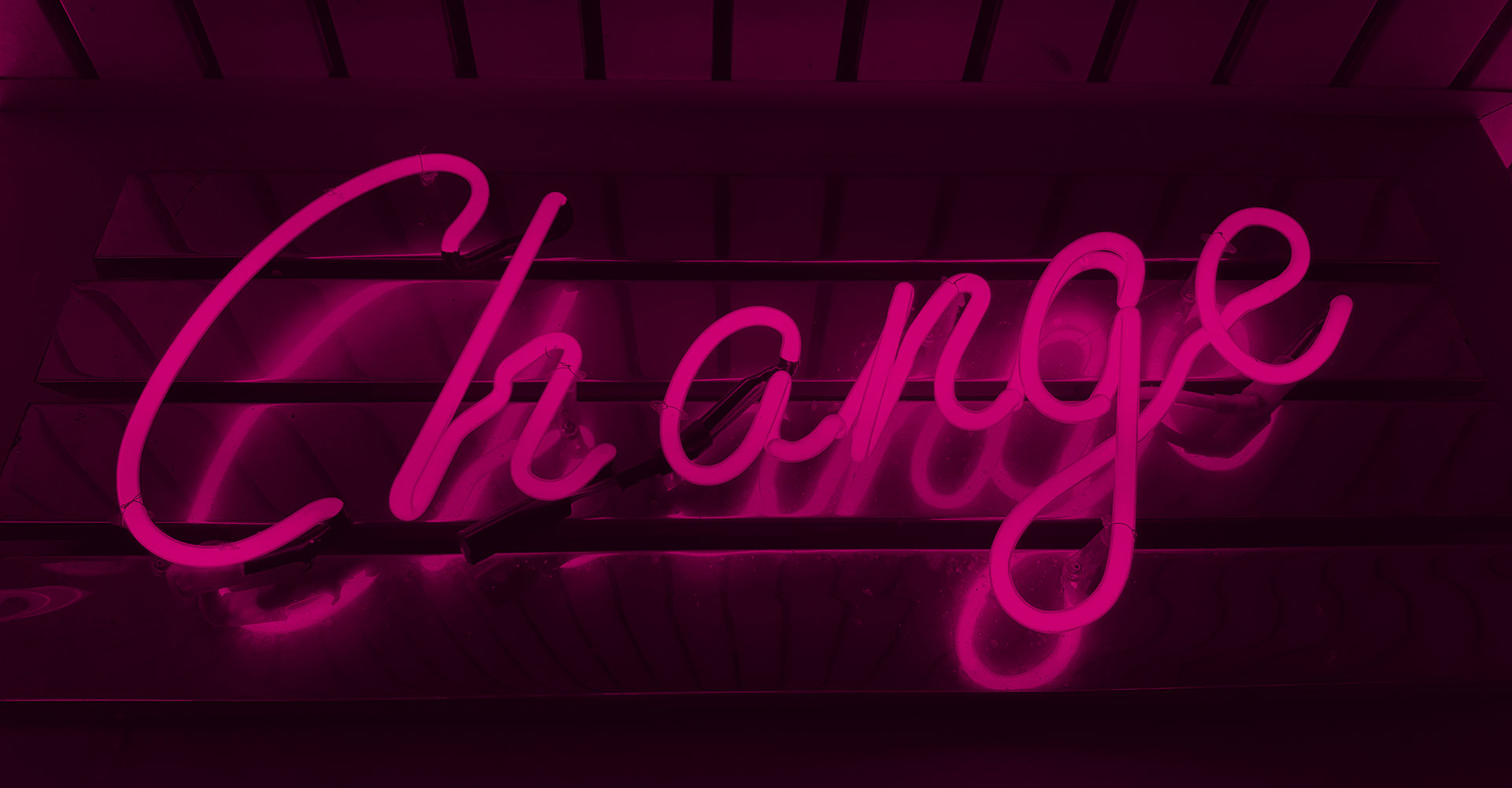 Change in neon lights