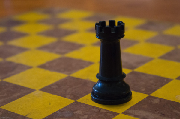 Castle Chess Piece