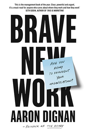 Thumbnail of Brave New Work book cover